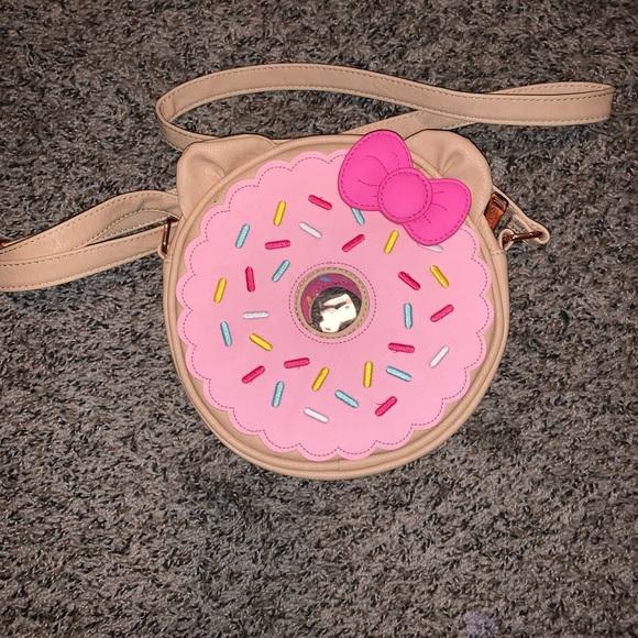 Loungefly Handbags - Loungefly Hello Kitty Donut purse